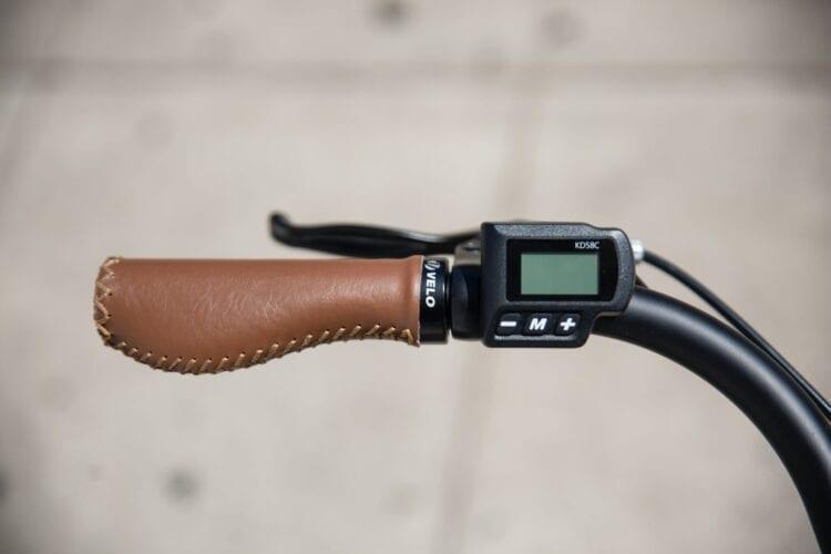 black and brown digital watch