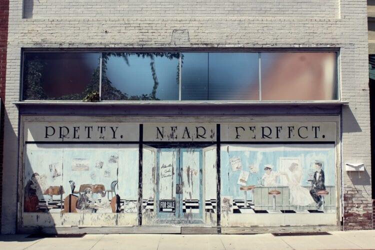 Pretty Near Perfect storefront